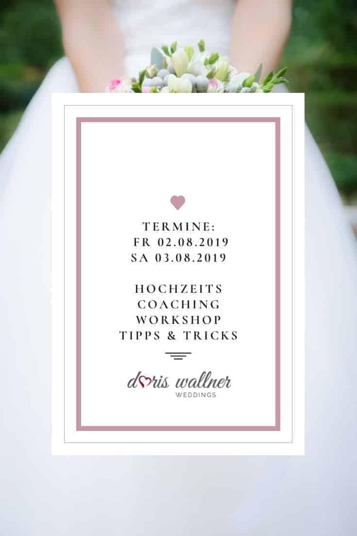 Doris Wallner Hochzeitsworkshop